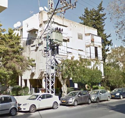 תל אביב - יהודה המכבי 45 - מצב קיים