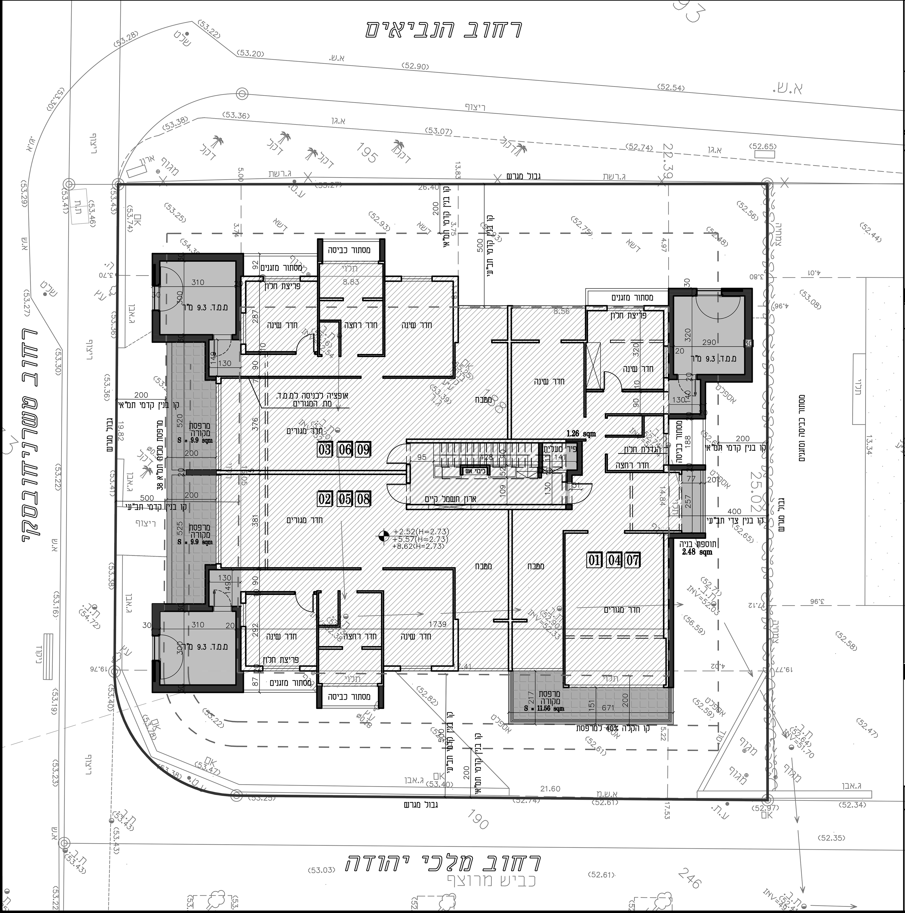 הרצליה - טשרניחובסקי 10 - תכנית קומה