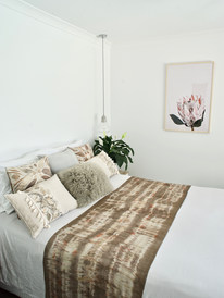 Eco dyed natural fibre cushion covers an