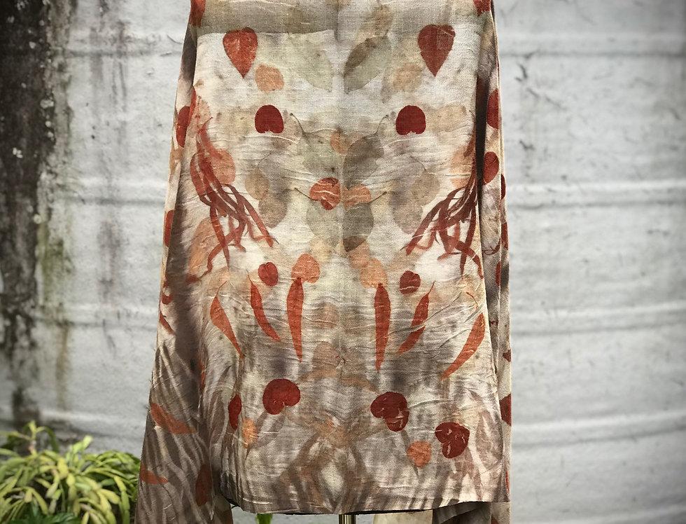 Silk Wool Shawl