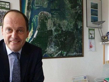 Bruno Lafon: le maire qui va au feu