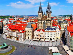 Prague, splendeur de l'Europe centrale