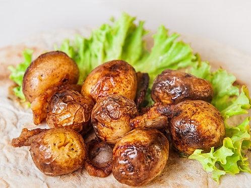 Запеченный картофель на мангале