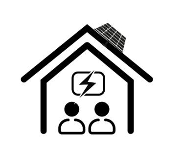 Pakket zonnepanelen (Klein verbruiker)+ batterij