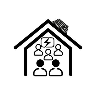 Pakket zonnepanelen (Grote verbruiker)+ batterij