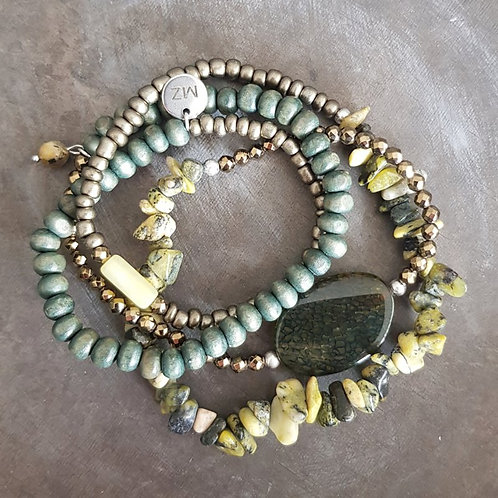 Wrap stone green