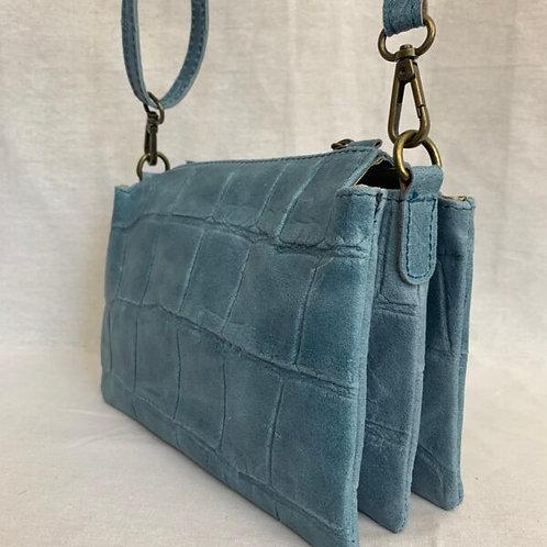 AMANI bag jeansblauw