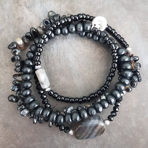 Wrap stone black