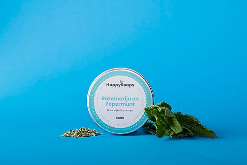 Natuurlijke Deodorant – Rozemarijn en Pepermunt