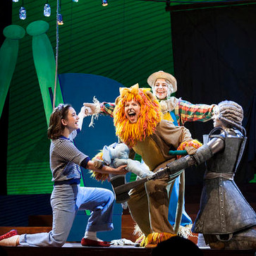 Lion in 'The Wizard of Oz'
