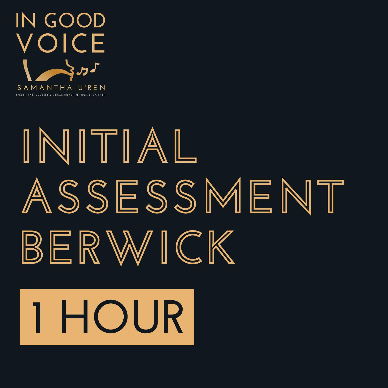 Initial Assessment Berwick