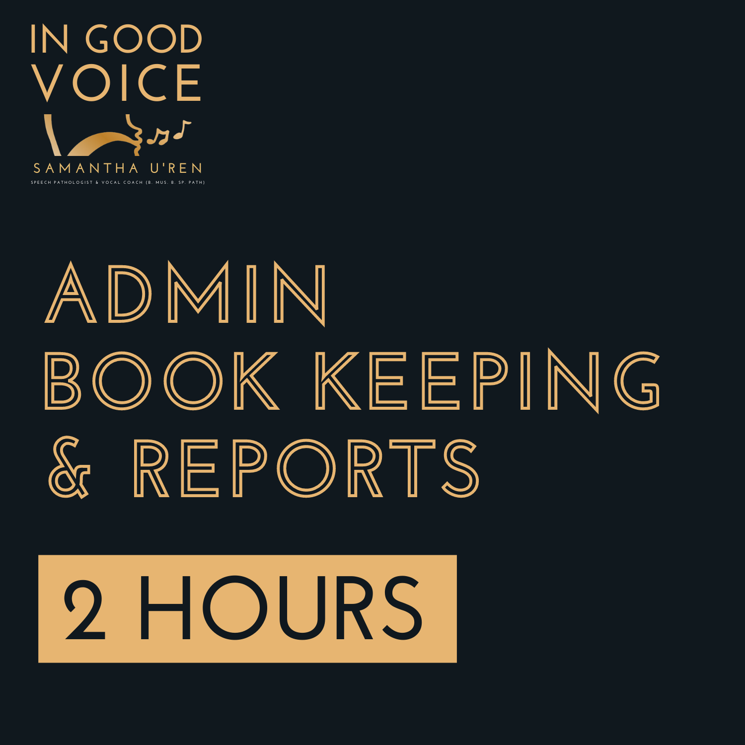 Admin, Book keeping and Reports