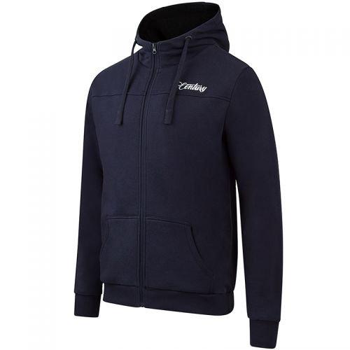 Century Premium Zip Blue Hoody