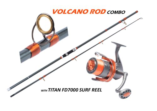Volcano Rod and Reel Combo