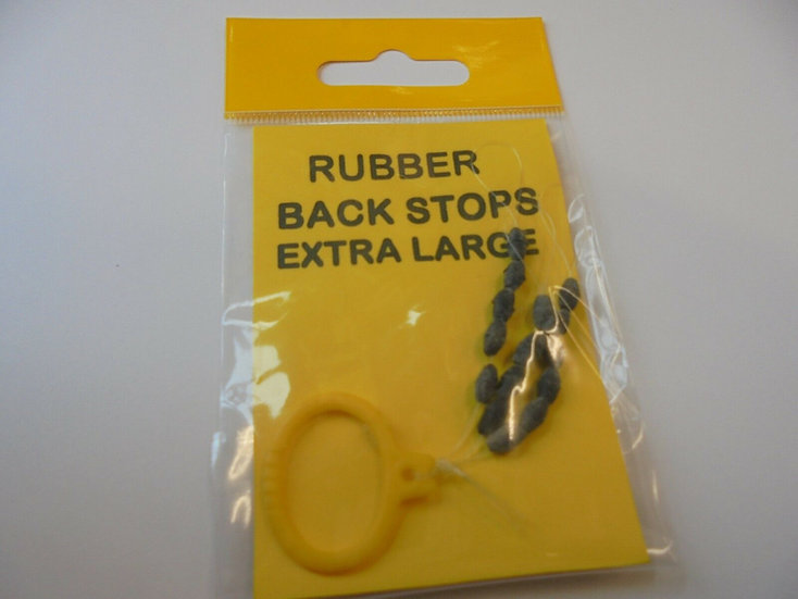 Rubber back stops XL