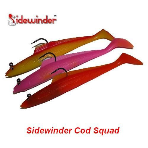 "Sidewinder 6"" Sandeels Cod Squad"