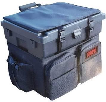 Tronixpro Black seat box & rucksack combo