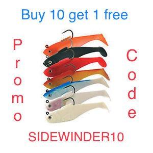"""Sidewinder 4"""" Shads"""