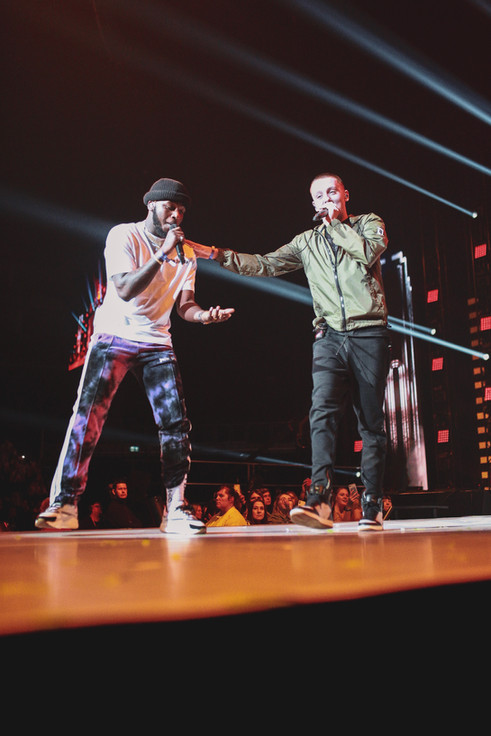 Aitch and Zie Zie live at O2 Arena