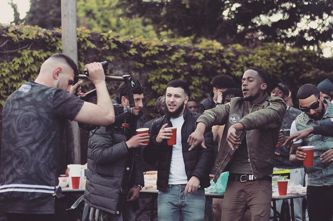 BTS of Shef 'Regular' Directed by B Dot.