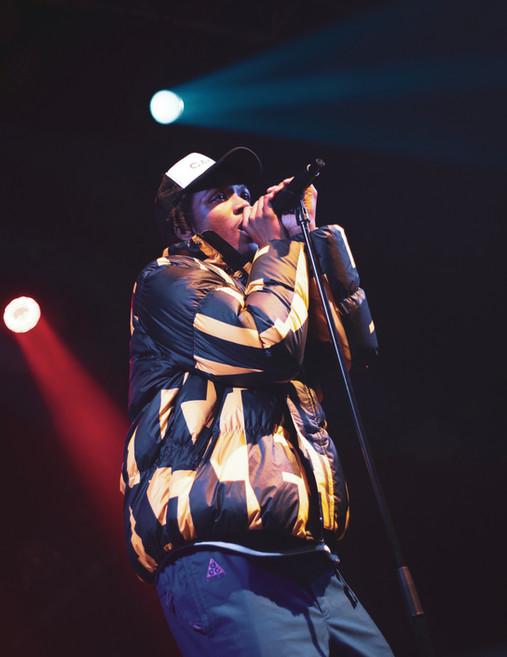Saba live at Camden's Electric Ballroom