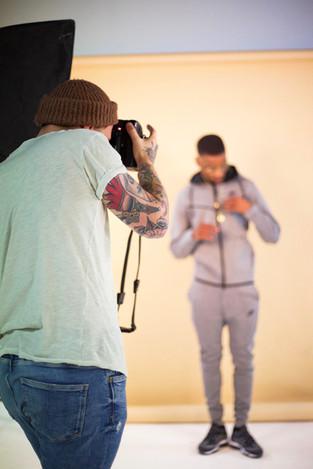 BTS Lukwatsss photoshoot with Keaton Rich