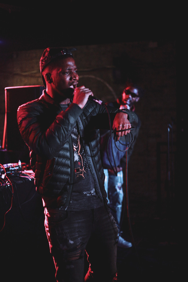 Ambush & Frank Ekwa live at Brixton Jamm