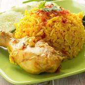 Ayam Percik with Pineapple Fried Rice.jp