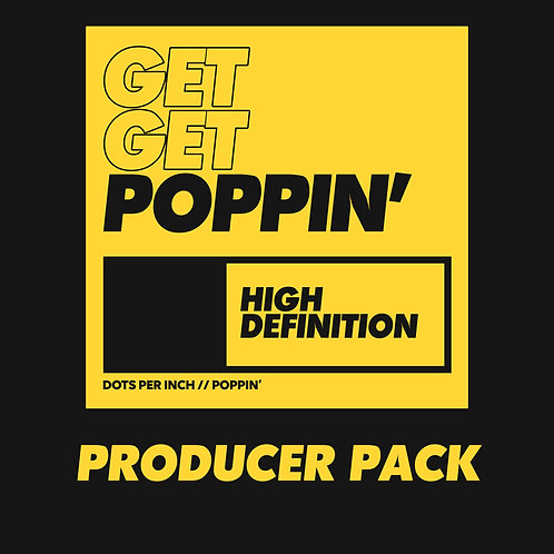 Dots Per Inch - Poppin' Producer Pack