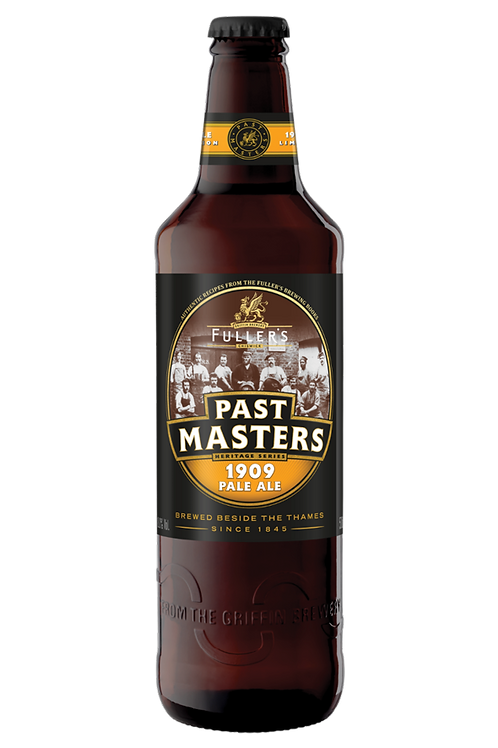 Past Masters 1909 Pale Ale | Case of 12 x 500mL Bottles
