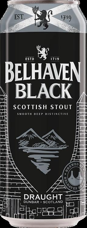 Belhaven Black Scottish Stout 24 x 440ml Cans