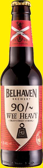 Belhaven Wee Heavy Rich Scottish Ale 24 x 330ml Bottles
