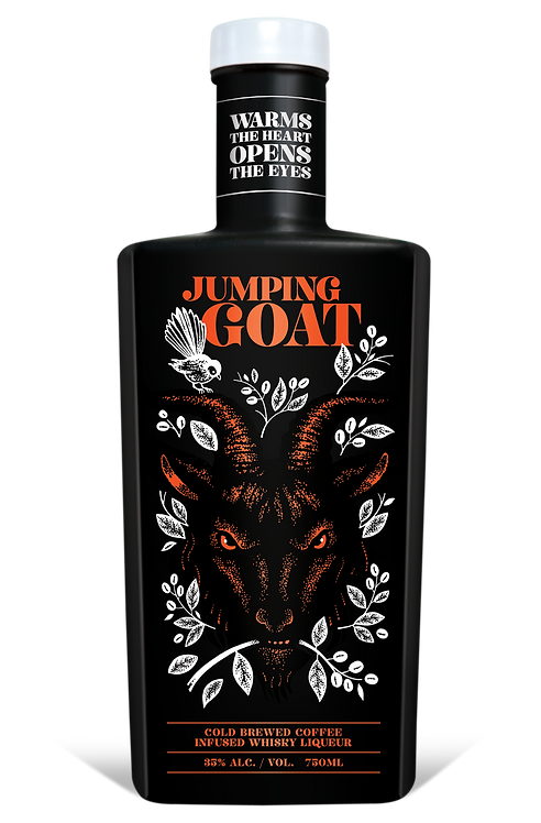 Jumping Goat Coffee Infused Whisky Liqueur