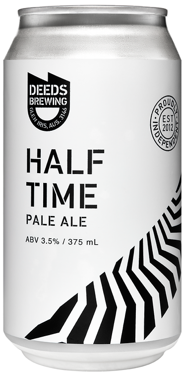 Deeds Brewing 'Half Time' Pale Ale