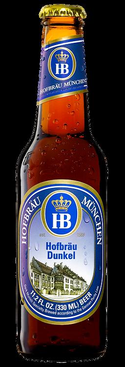 Hofbräu Dunkel (Dark) Lager - 24 x 330ml Bottles