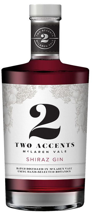 2 Accents Shiraz Gin