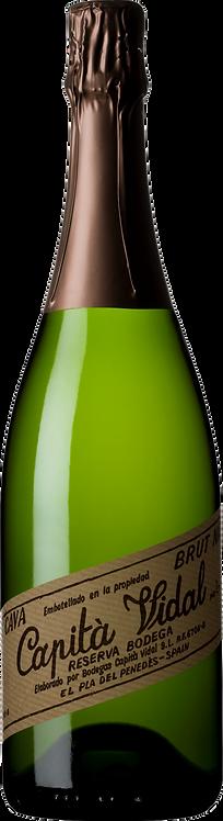 Bodegas Capità Vidal Reserva Brut Nature 12 x 750ml Bottles