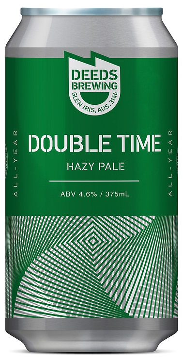 Deeds Brewing Double Time Hazy Pale