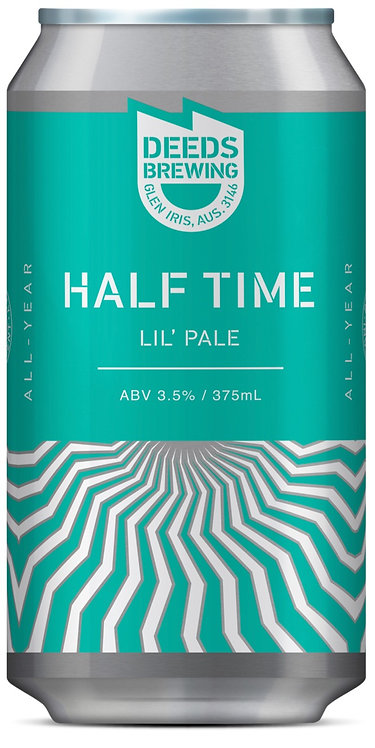 Deeds Brewing 'Half Time' Lil' Pale