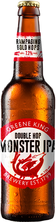 Greene King Double Hop Monster IPA 24 x 330ml Bottles