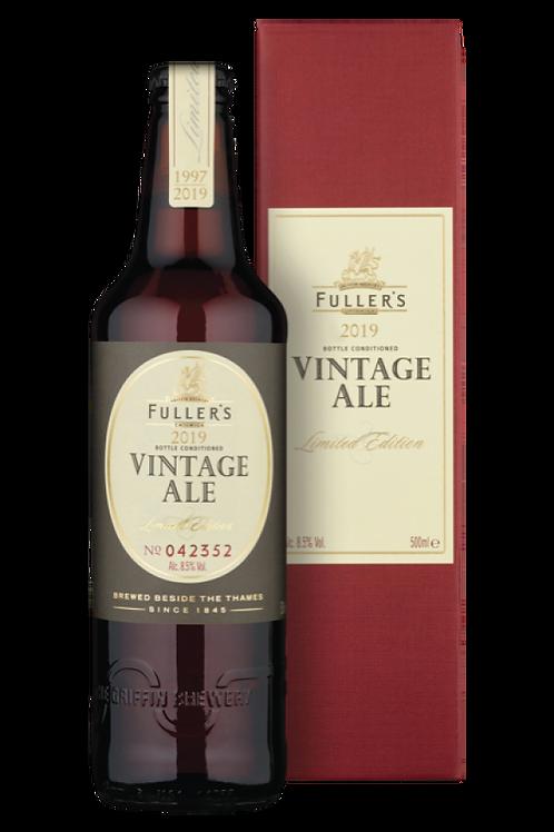 2019 Vintage Ale   Case of 12 x 500mL Bottles