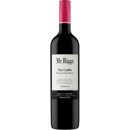 Mr. Riggs Wine Co. 'The Gaffer' Shiraz | McLaren Vale