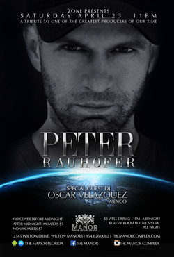 PETER RAUHOFER - THE MANOR-Recovered
