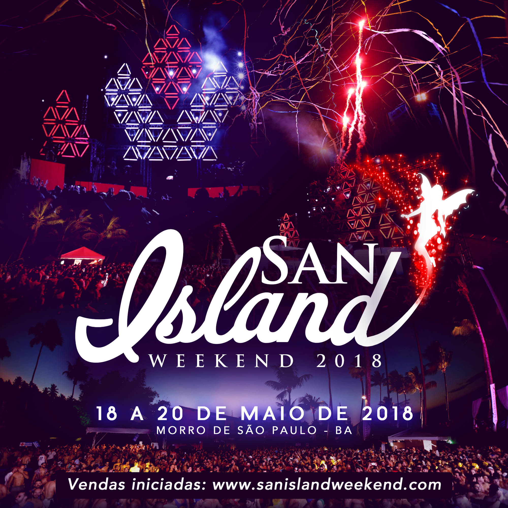 San Island - save the date sem ivete