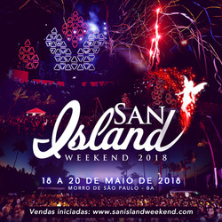 San Island - save the date sem ivete