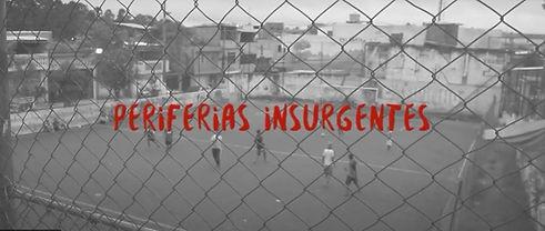 tela do documentário Periferias Insurgen