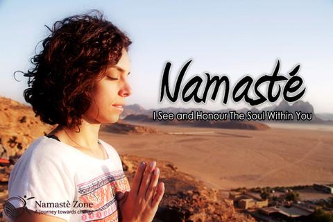 WHY WE SAY IT: Namaste !