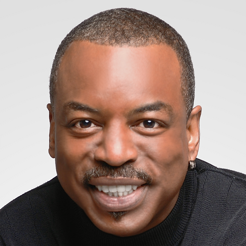 Levar Burton Professional Photo Op