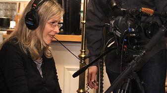 filmmaker sandi perlmutter behind the camera
