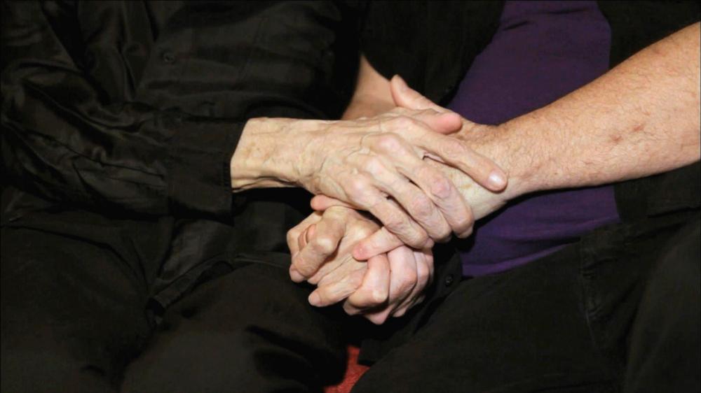 Edd & Joe Hold Hands